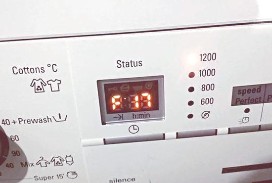 Ошибка F17, Е17 в стиральной машине БОШ