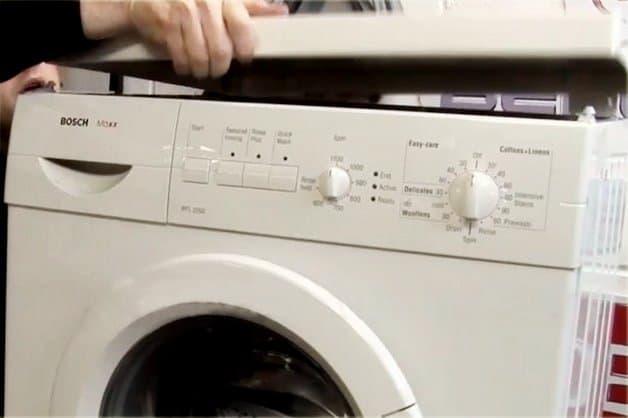 Открытие люка с помощью разборки стиральной машины