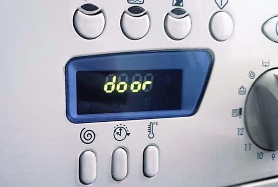 5 причин ошибки door в стиральной машине Атлант
