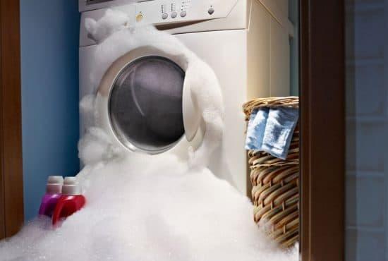 Почему лезет пена из стиральной машины