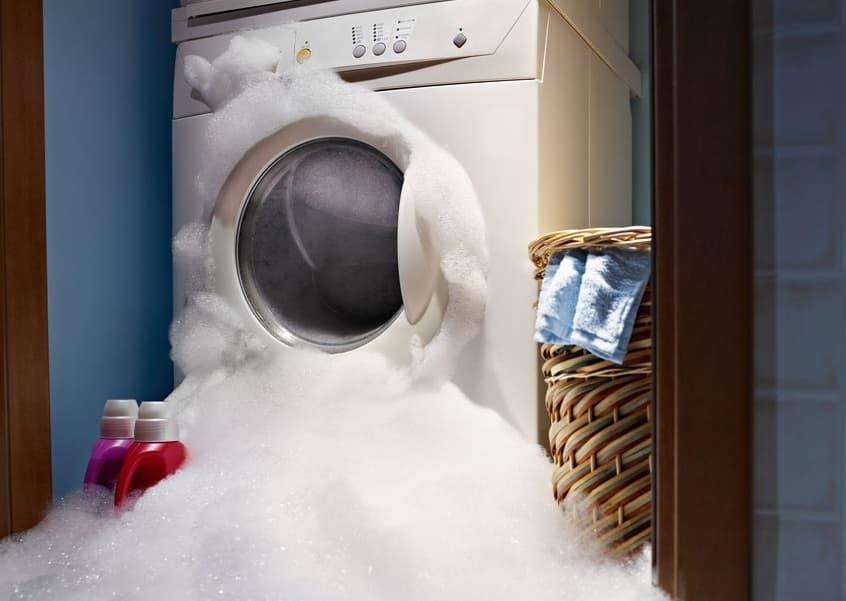 пена лезет из стиральной машины