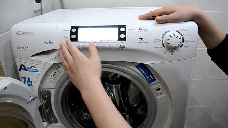 Ошибка E16 в стиральной машине Candy