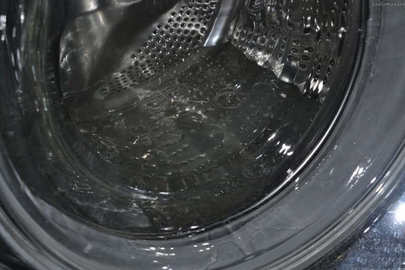 Перелив воды в стиральной машине