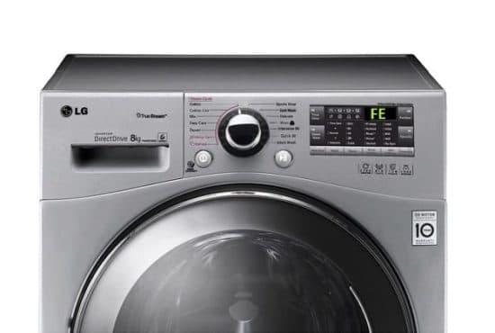 Ошибка FE на стиральной машине LG
