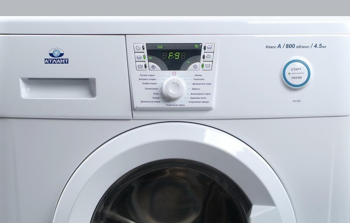 Ошибка F9 в стиральной машине Атлант