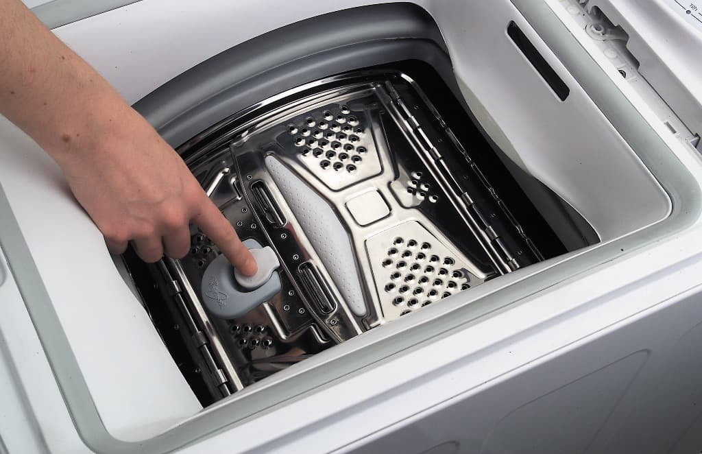 Створки в стиральной машине с вертикальной загрузкой